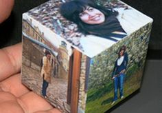 WOW! create a beautiful Paper Cube from your photos on fiverr.com