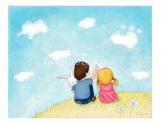 Children's Wall Art Print  Imagination  8 x by lalelilolustudios, $26.00