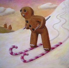 """""""Nursery slope"""" - By Sarah-Jane Szikora"""
