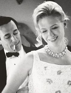 Don & Betty Draper - Mad Men. Starring Jon Hamm and January Jones