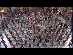 flashmob video... love this would more than adore to be in one.... maybe we could do it here in Charlotte, NC at Founder's Hall...anyone in?