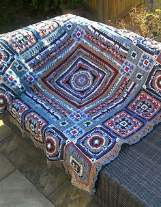 Ross Poldark, Crochet Granny, Bohemian Rug, Blanket, Afghans, Rugs, Home Decor, Farmhouse Rugs, Decoration Home