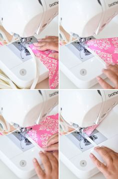 How to sew a simple bunting | The Yvestown Blog