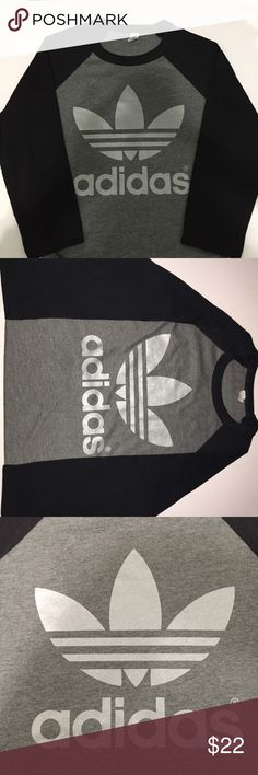 🚨LAST ONE🚨 NEW ADIDAS TREFOIL LONG SLEEVES SHIRT 100% BRAND NEW ADIDAS TREFOIL LONG SLEEVES SIZE S . Check my other listing Nike, adidas, forever 21, champion, converse , triangl , bikinis, hollister, American eagle, brandy Melville, Lacoste, too faced, Mac, clinique,Aeropostale, gap,Calvin Klein,ethika,tom,vans,coach,kate spade,Michael kors adidas Tops Tees - Long Sleeve