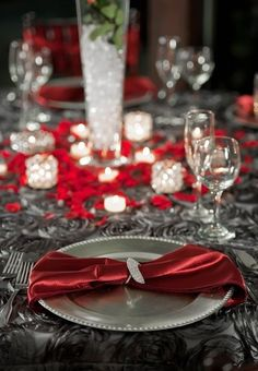 Image result for gray and red wedding