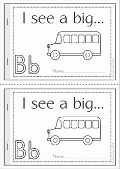 Phonics Letter of the Week Bb {FREE}. A HUGE unit (81 pages) with all that you need for a letter of the week curriculum. A page from the unit: Beginning sounds reader using sight words and CVC words - great for kids learning to read!