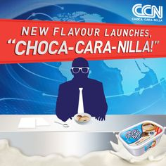 This just in… Get your Choca-Cara-Nilla in stores now, ice cream lovers! :-D