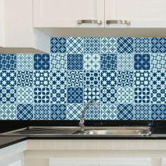 Adesivo de Azulejo - Ladrilho Hidráulico - 072Az