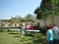 Our guest Mr. Marc Larue from France had a lovely time playing with colors this Holi at Royal Heritage Haveli Jaipur!