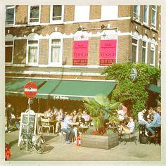 Cafe Binnen Buiten | Albert Cuypstraat/Ruysdaelkade | Photo (c)Bart Peirs