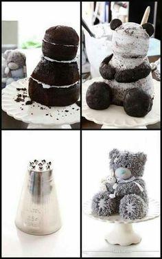 Teddy Bear Cake - photos are only description I have