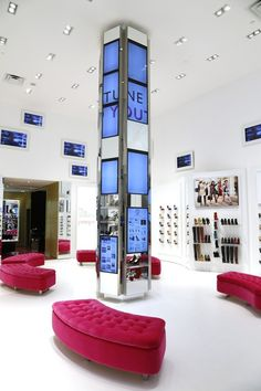 Nine West Flagship Store Interactive Digital Signage on Behance