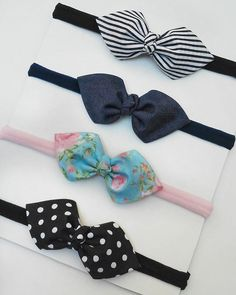 Baby Head, Baby Bows, Candy Colors, Hair Band, Headbands, Girl Fashion, Ribbon, Hair Accessories, Crafts