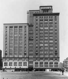 Hey look at parking garage - The Department Store Museum: The J. L. Hudson Co., Detroit, Michigan