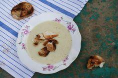 Wegan Nerd - Kuchnia roślinna : Kuchnia żydowska: Zupa porowa z miodem