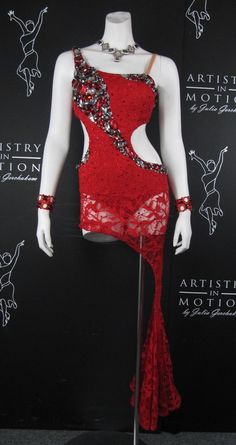 Artistry in Motion red lace