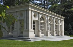 CURB APPEAL – another great example of beautiful design. Remember that time I spent an entire day scouring boston via bing maps looking for this home, Pavilion in the Park, a private residence near Boston.