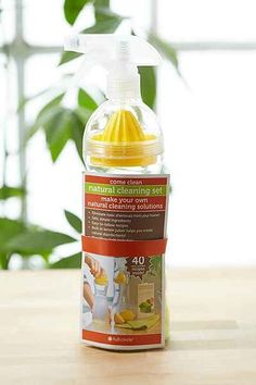 Full Circle Come Clean Natural DIY Cleaning Solution Kit - Urban Outfitters Cleaning Spray, Expensive Houses, Natural Cleaning Products, Cleaning Solutions, Clean House, Exterior Design, Urban Outfitters, Create, Simple