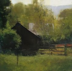 Douglas Fryer painting