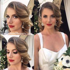 Ebel Long Beach Wedding - Hair + Makeup by Dee + Asst Phaithe @swellbeauty