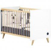 Lit bébé à barreaux Olso (60 x 120 cm) - Sauthon Easy
