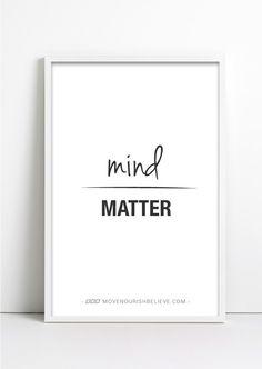 I don't mind & you don't matter