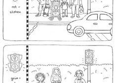 ausmalbilder straßenverkehr
