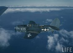 Curtiss SB2C Helldiver in Pacific
