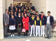 | NCU team visits Euro International School, Gurgaon |  A team of faculty from NCU made a visit to Euro International School, Gurgaon on 22 January 2016 to conduct a career counselling session for the senior secondary students of the school. The session was conducted by Ms Jyotsna Singh (Dept of CSE&IT), Dr Anjali Garg (Dept of EECE), Mr Ashwini Sharma (Dept of ME) and Mr Chetan Singh (SPA).