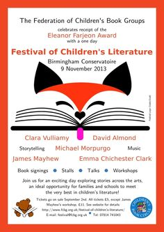 Today I'm sharing a post by Zoe over at Playing By The Book, filling us in on a fantastic day out coming up in the Midlands... On Saturday November 9, in the heart of Birmingham you can meet Pinocchio, a mysterious angel, the boy destined to be King Arthur... and an elephant with amazing balancing