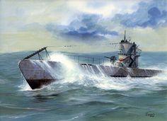 Silent Departure - Type IXB U-boat