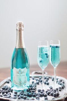 A Tiffany Blue Wedding Toast with Blanc de Bleu Cuvee Mousseux Bleu Tiffany, Scotch Whiskey, Irish Whiskey, Home Brewing Beer, Wedding Toasts, Craft Cocktails, Alcoholic Drinks, Liquor Drinks, Bourbon Drinks