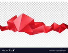 Vector abstract faceted crystal banner, 3d shape with triangles, geometric, modern template. Isolated on transparent background. Download a Free Preview or High Quality Adobe Illustrator Ai, EPS, PDF and High Resolution JPEG versions.