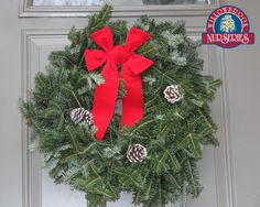 Willowbrook offers beautiful wreaths to brighten up your Christmas holiday!