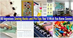 I love to sew. That being said, I rarely have time these days between work and family. Well, I have a treat for all of you like me who just really need sewing to be less time-consuming and a bit easier. I've collected some of the most ingenious sewing hacks you've ever seen! I really wish that I...
