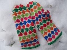 virveriikka: Vuoden ensimmäiset ja lunta!