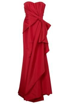 Strapless Gown by CAROLINA HERRERA @ $4,350     Carolina Herrera's luxurious Strapless Gown is the ultimate in eveningwear.