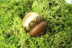 Ketten lang - ElfenHut *goldperle* Kette mit Anhänger - ein Designerstück von Die-kleine-Wunderkiste bei DaWanda
