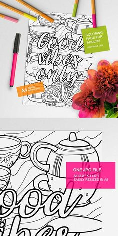 quote coloring pages, Destress coloring pages, adult coloring books, color page  #creativequiettime #coloringpage #coloringbook #adultcoloring