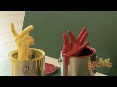Hand in Paint Bucket Scare Prank