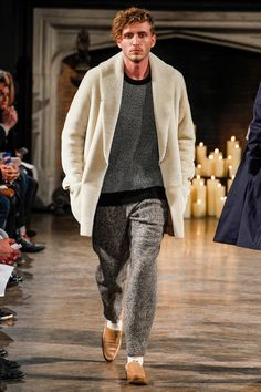 Luxe Lounge Chic. Billy Reid Fall-Winter 2014 Men's Collection