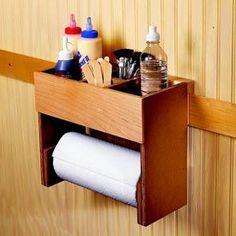 Portable Glue/Towel Center Downloadable Plan