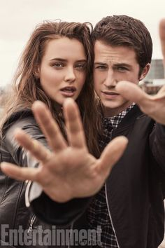 Dylan Minnette and Katherine Langford - Entertainment Weekly Photoshoot