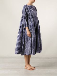 Daniela Gregis gingham picnic dress