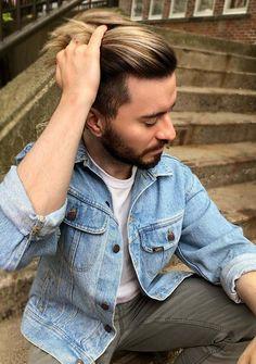 20 Best Balayage Hair Color Ideas for Men 2018 Men Hair Color, Hair Color Shades, Hairstyles Haircuts, Haircuts For Men, Mens Hairstyles 2018, Hair And Beard Styles, Hair Styles, Latest Hair Color, Hair Color Techniques