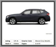 2013 BMW X1 xDrive35i SUV    Rear Passenger Door Type: Conventional, Cupholders: Front And Rear, Speed Sensitive Audio Volume Control, Headlight Cleaners With Washer, Headlights Off Auto Delay, Front Head Room: 41.3, Adaptive Headlights, Daytime Running Lights, Front Fog/Driving Lights, Fuel Type: Premium Unleaded, Cruise Controls On Steering Wheel, Remote Power Door Locks, Remote Activated Exterior Entry Lights,
