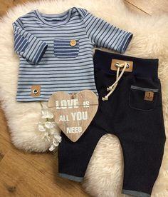 #nähen#sewing#nähenfürsenkelkind#babykleidung#babyclothes#babyfashion#stripes#streifen#maritime#babyboy#baby2017#jeans#blue#klassisch#handmade#madeitmyself#becreative#dowhatyoulove#lovethis