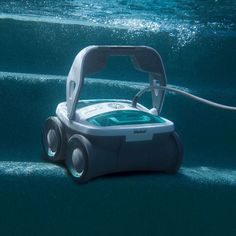 The Pool Cleaning Robot Keeps Your Pool Clean and Ready For Use! http://www.wickedgadgetry.com/2016/03/17/pool-cleaning-robot/ #pool #cleaning #robot
