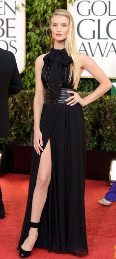 Rosie Huntington-Whiteley: #GoldenGlobes 2013 #BestDressed