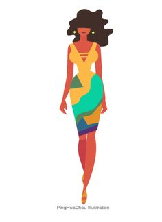 Catwalk GIF Animation by PingHua Chou, via Behance
